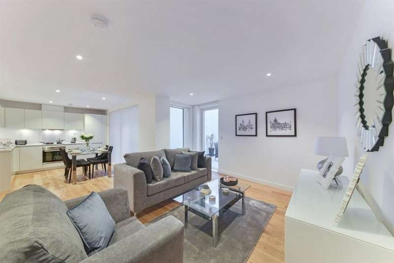 3 Bedrooms Flat for rent in St Pancras Place, Kings Cross, London WC1X