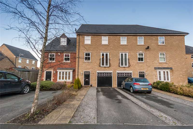 3 Bedrooms Terraced House for sale in Golding Hop Close, Fountain Head Village, HALIFAX, West Yorkshire, HX2