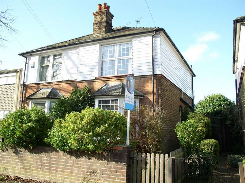 2 Bedrooms Semi Detached House for sale in Molesey Road, Hersham, Walton-On-Thames