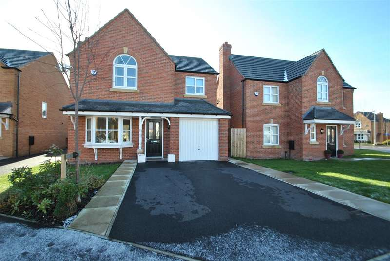 4 Bedrooms Detached House for sale in Steers Close, EDGEWATER PARK, WA4