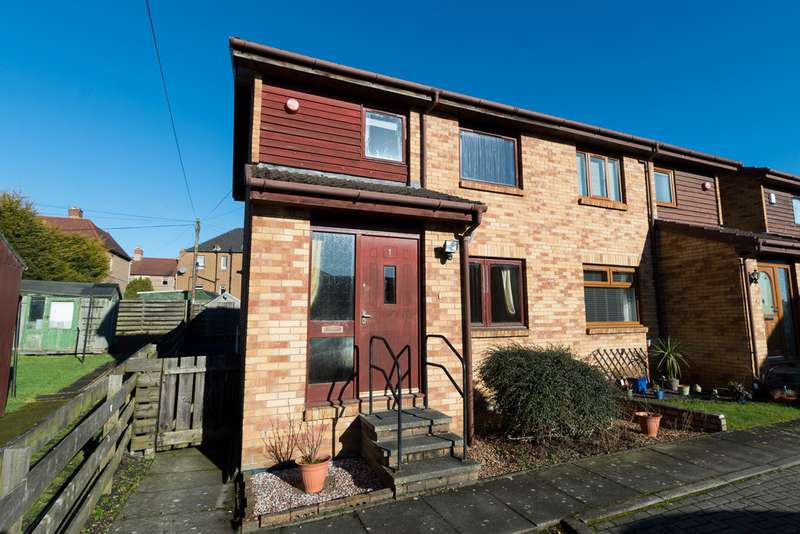 3 Bedrooms Semi Detached House for sale in Backwell Court, Dunfermline KY12