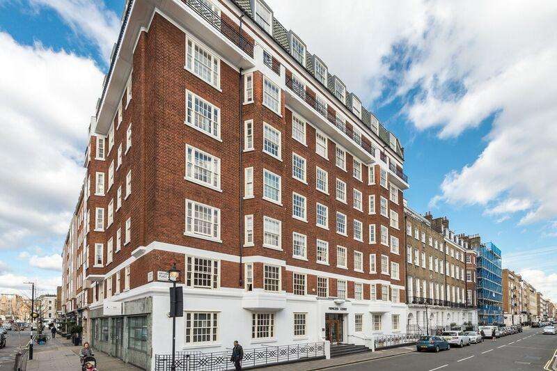 2 Bedrooms Apartment Flat for sale in Princess Court, Bryanston Place W1H
