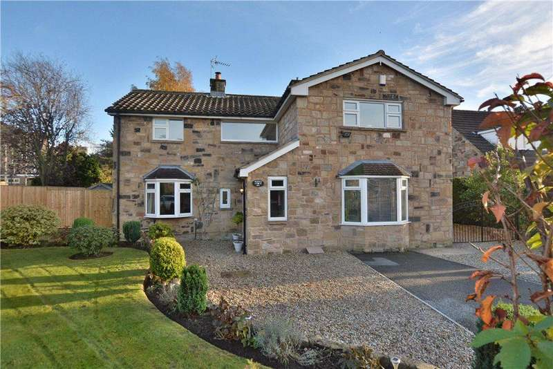 4 Bedrooms Detached House for sale in Meadow Close, Bardsey, Leeds, West Yorkshire