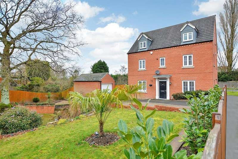 5 Bedrooms Detached House for sale in Pippin Close, Selston