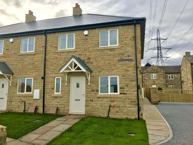 3 Bedrooms Cottage House for sale in Brampton Hall Cottages, Brampton Road, Brampton Bierlow S63