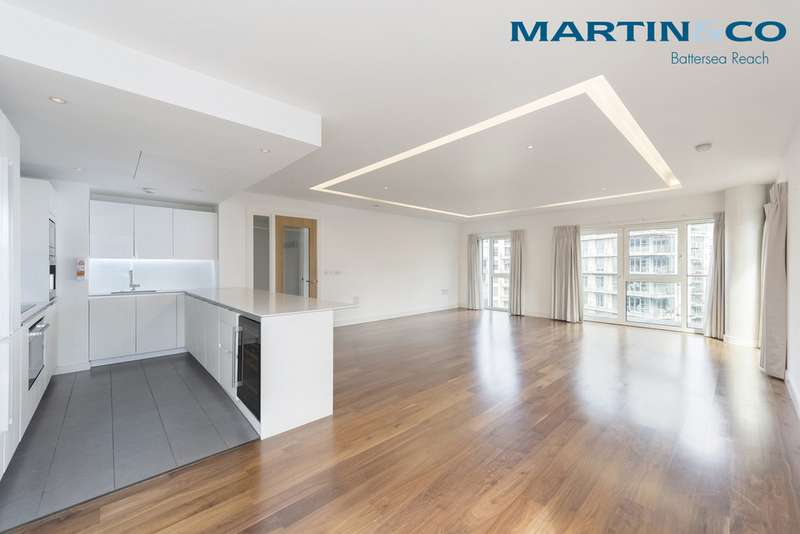 3 Bedrooms Apartment Flat for sale in Spinnaker House, Battersea Reach SW18