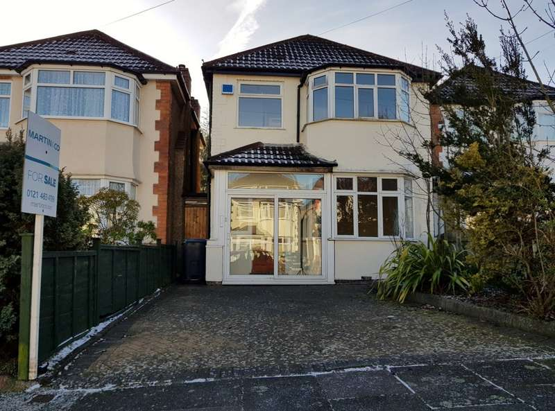 3 Bedrooms Detached House for sale in Myrtle Avenue, Maypole B14