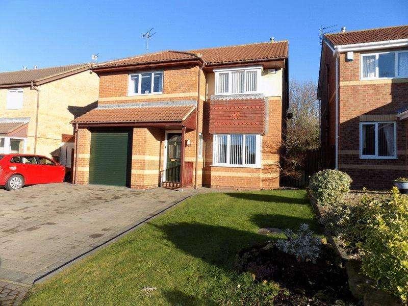 4 Bedrooms Detached House for sale in Barnard Close, Hazelmere, Bedlington
