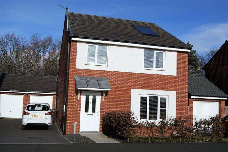 4 Bedrooms Detached House for sale in Miller Close, Newcastle Upon Tyne