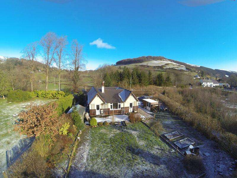 3 Bedrooms Detached Bungalow for sale in Carrog, Near Corwen