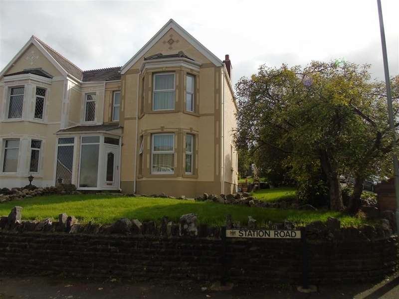 4 Bedrooms Semi Detached House for sale in Station Road, Glais, SWANSEA