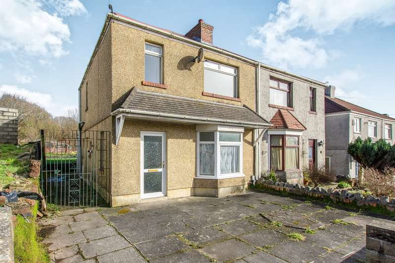 3 Bedrooms Semi Detached House for sale in Pentregethin Road, Gendros, Swansea