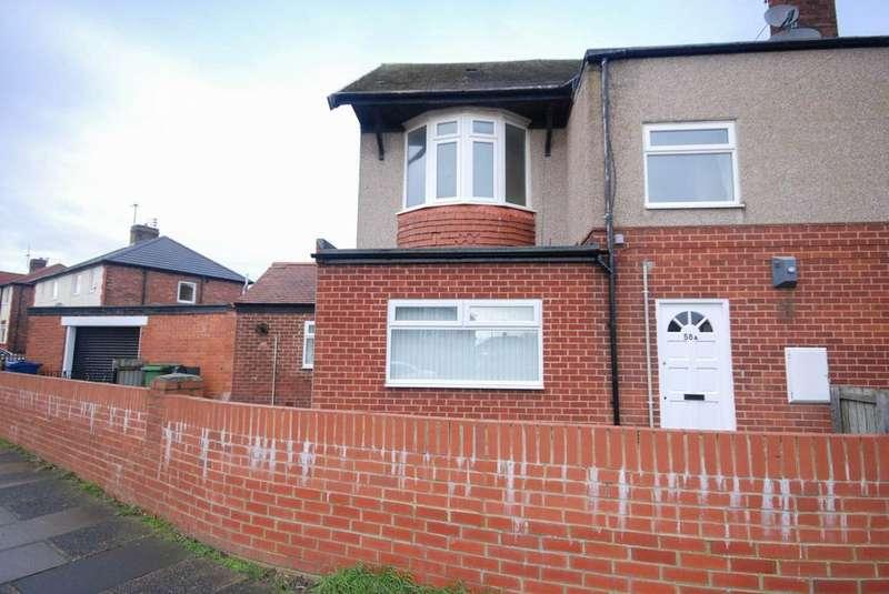 2 Bedrooms Flat for sale in Norham Terrace, Jarrow