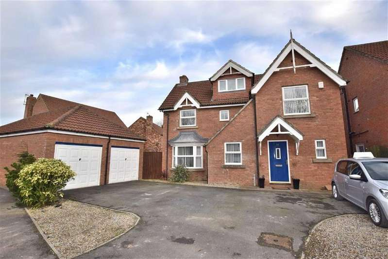 5 Bedrooms Detached House for sale in Cook Close, Brompton On Swale, North Yorkshire
