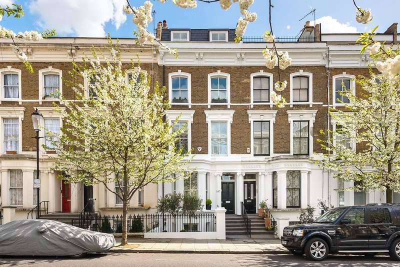 5 Bedrooms Terraced House for sale in Chesterton Road, North Kensington, London, W10
