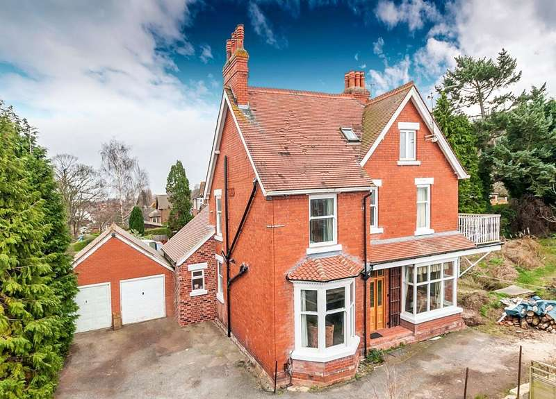 6 Bedrooms Detached House for sale in Hill View, 357 Holyhead Road, Wellington, Telford, Shropshire, TF1