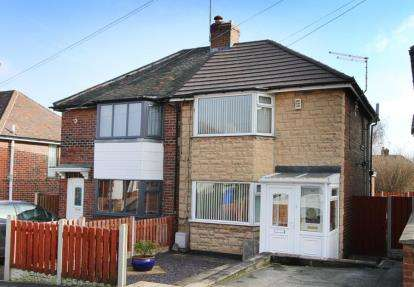 2 Bedrooms Semi Detached House for sale in Longstone Crescent, Sheffield, South Yorkshire