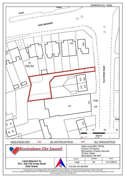 Land Commercial for sale in Tile Cross Road, Bimingham B33