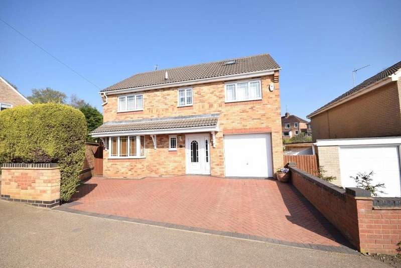 5 Bedrooms Detached House for sale in Dunkirk Avenue, Desborough, Kettering