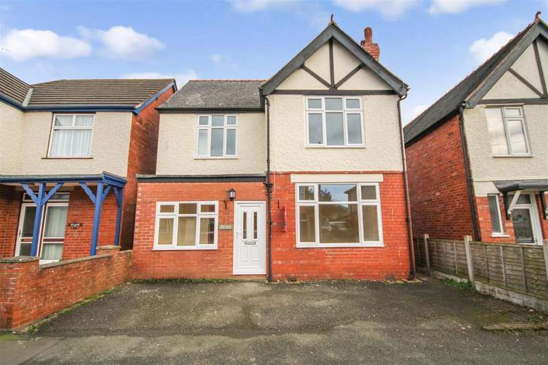 3 Bedrooms Detached House for sale in Vyrnwy Road, Oswestry
