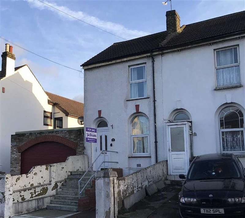 2 Bedrooms End Of Terrace House for sale in Gillingham Road, Gillingham