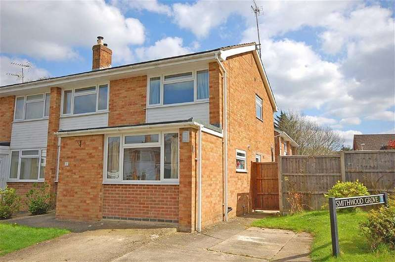 4 Bedrooms Semi Detached House for sale in Smithwood Grove, Charlton Kings, Cheltenham, GL53