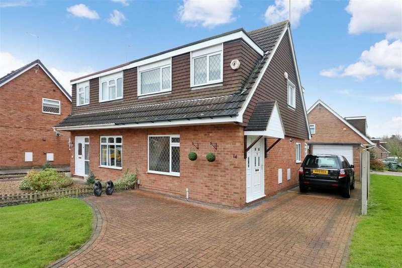 3 Bedrooms Semi Detached House for sale in Makepeace Avenue