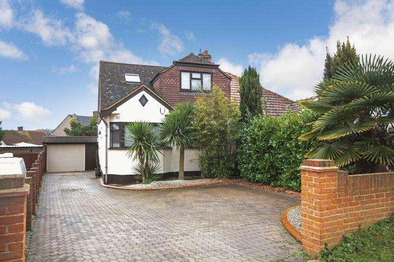 4 Bedrooms Semi Detached House for sale in Top Dartford Road, Hextable, BR8