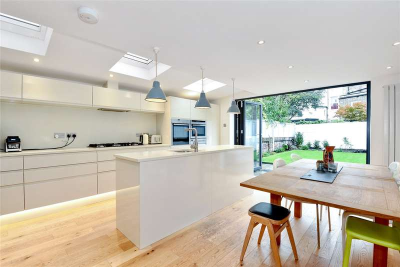 4 Bedrooms Terraced House for sale in Plimsoll Road, Highbury, Islington, London, N4