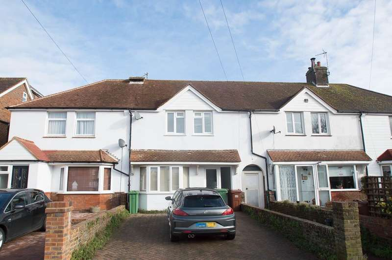 2 Bedrooms Terraced House for sale in Queens Crescent, Eastbourne