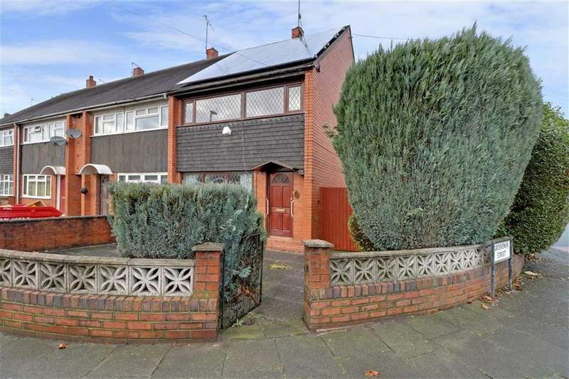 3 Bedrooms End Of Terrace House for sale in Heathcote Road, Longton