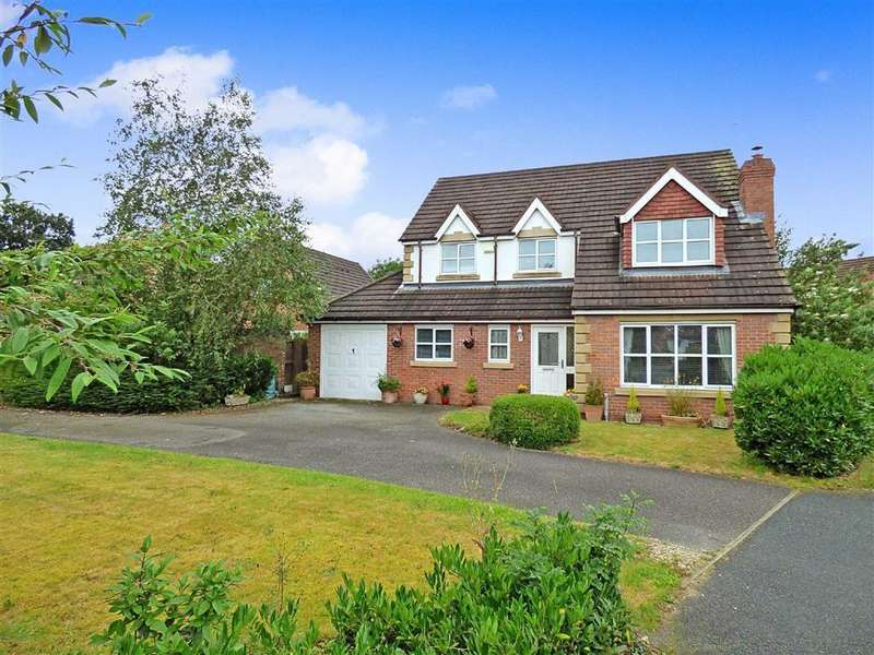 4 Bedrooms Detached House for sale in Dunnillow Field, Stapeley, Nantwich