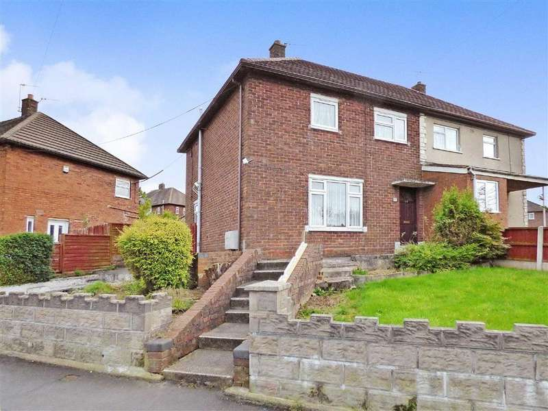 3 Bedrooms Semi Detached House for sale in Hethersett Walk, Bentilee, Stoke-on-Trent