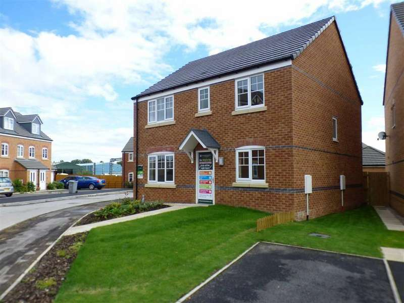 4 Bedrooms Detached House for sale in Redshank Place, Sandbach