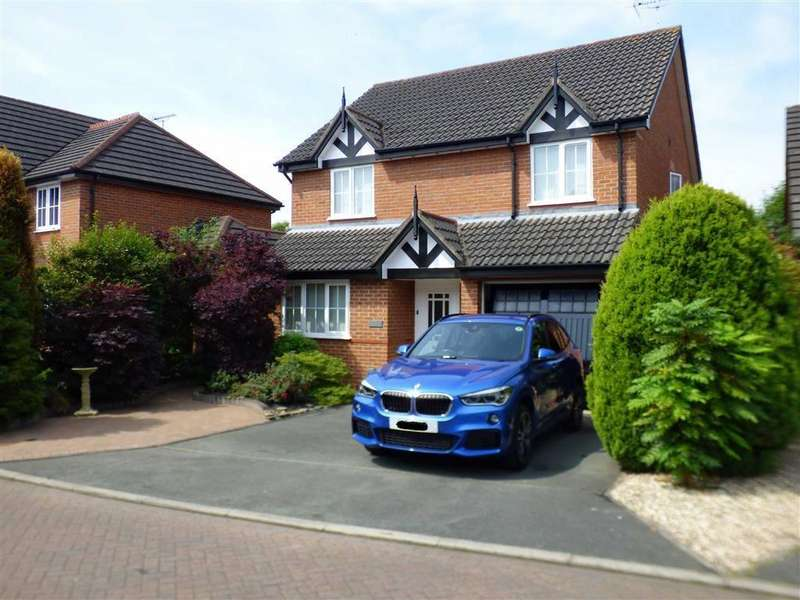 4 Bedrooms Detached House for sale in Telford Gardens, Wheelock, Sandbach