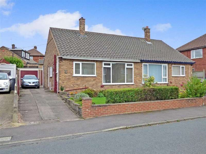 2 Bedrooms Semi Detached Bungalow for sale in Ashendene Grove, Hanford, Stoke-on-Trent