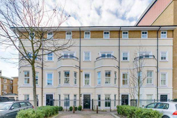 4 Bedrooms Terraced House for sale in Canal Boulevard, Camden, London, NW1