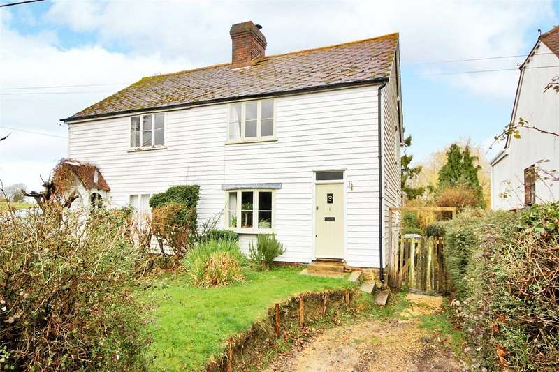 2 Bedrooms Semi Detached House for sale in Dixter Lane, Northiam, Rye, East Sussex, TN31