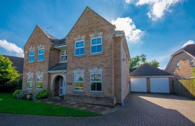 4 Bedrooms Detached House for sale in Rose Leigh Way, Spalding, PE11