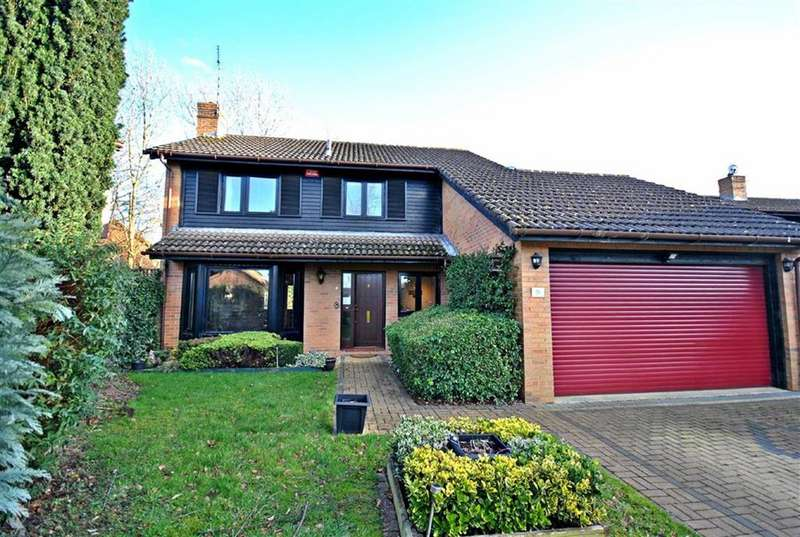 4 Bedrooms Detached House for sale in West Hunsbury