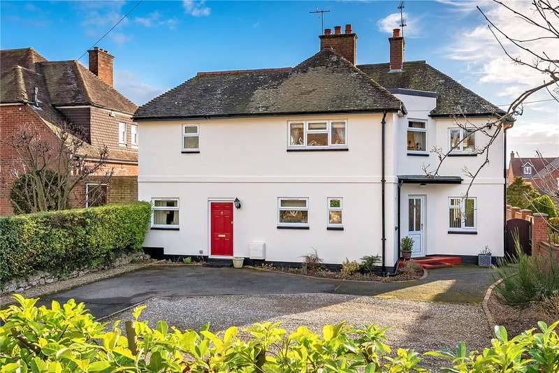 4 Bedrooms Detached House for sale in Leahurst, Wenlock Road, Bridgnorth, Shropshire, WV16