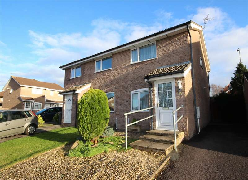 2 Bedrooms Semi Detached House for sale in Breaches Gate Bradley Stoke Bristol BS32