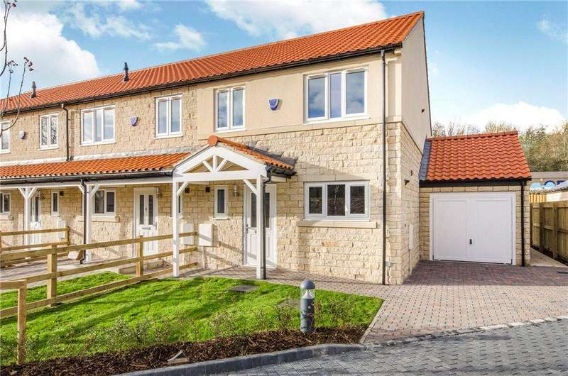 3 Bedrooms End Of Terrace House for sale in Abbeystone Gardens, Monk Fryston, Leeds