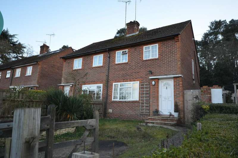 2 Bedrooms Semi Detached House for sale in Burnt Hill Road, Lower Bourne