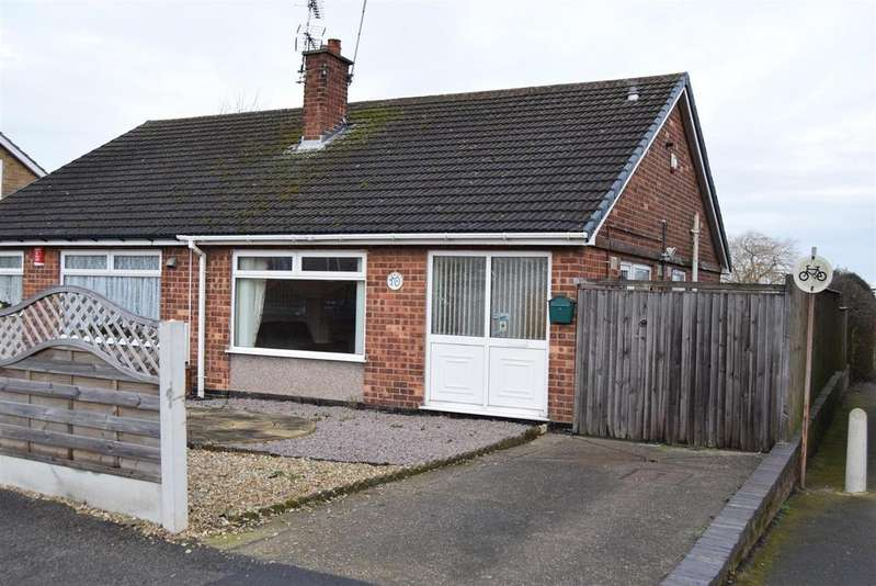 2 Bedrooms Semi Detached Bungalow for sale in Ling Forest Road, Mansfield