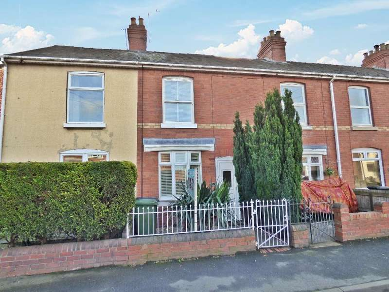 2 Bedrooms Terraced House for sale in Grandstand Road, Hereford