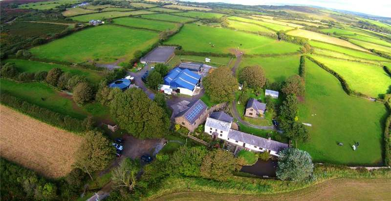 9 Bedrooms Farm Commercial for sale in Tankey Lake Farm, Llangennith, Gower, Swansea, SA3
