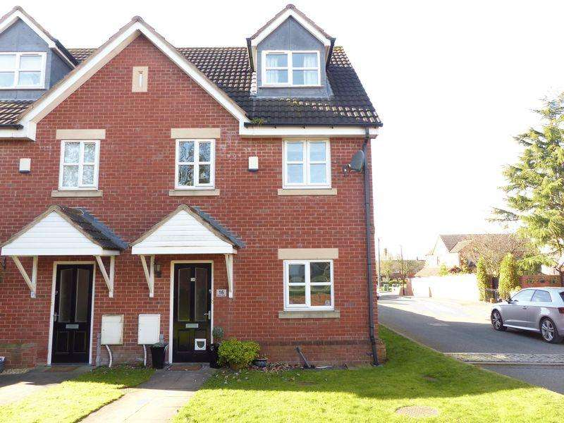3 Bedrooms Semi Detached House for sale in Merlin Close, Brownhills