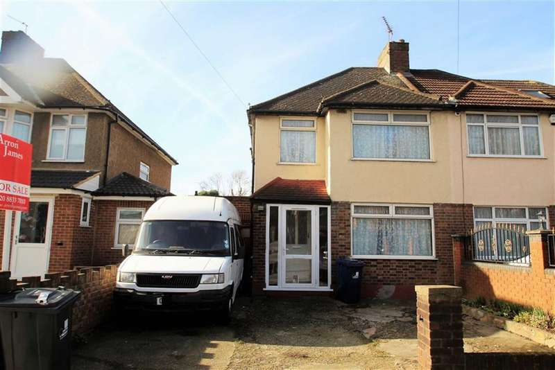 3 Bedrooms Semi Detached House for sale in Kensington Road, Northolt, Middlesex