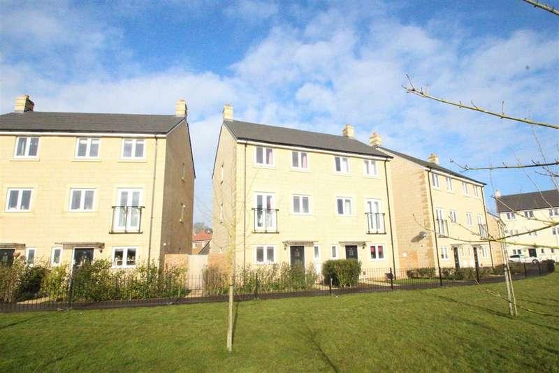 4 Bedrooms Semi Detached House for sale in Serotine Crescent, Hilperton, Wiltshire, BA14